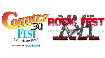 Rock Fest & Country Fest Tickets Sold at Select Mega Holidays