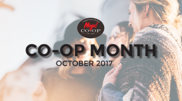 October is National Co-op Month at Mega! CO-OP Holiday and Travel Stop