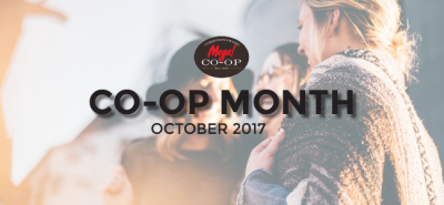 October is National Co-op Month