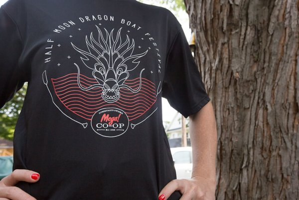 Mega! Co-op Power Paddlers  T-shirt Designed by AmbientInks in Eau Claire
