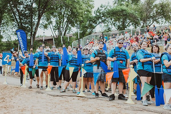 Mega! CO-OP Power Paddlers 2018