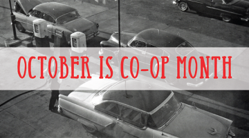 October 2018 is National Co-op Month at Mega! CO-OP Holiday and Travel Stop
