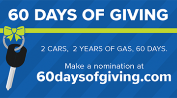 'Tis the Season for 60 Days of Giving!