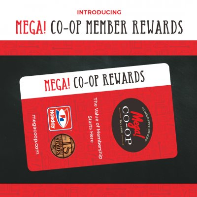 Introducing Mega! CO-OP Rewards