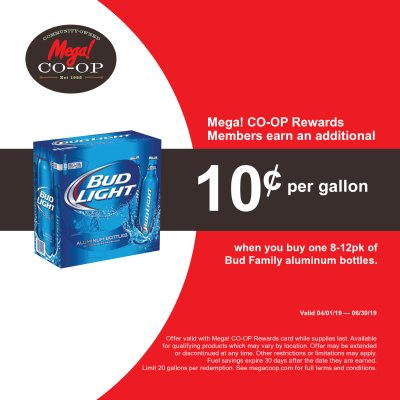 Bud Family Aluminum Bottle Offer