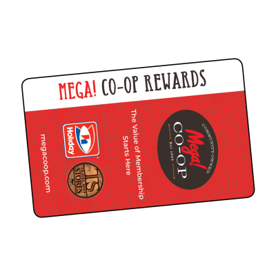 Mega Co-op Rewards Card