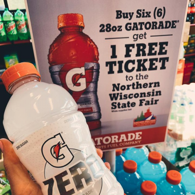 Gatorade and Northern Wisconsin State Fair Deal