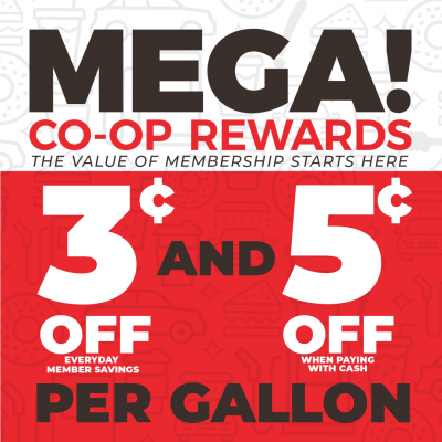 Mega Co-op Rewards