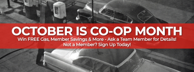 October is Co-op Month at Mega